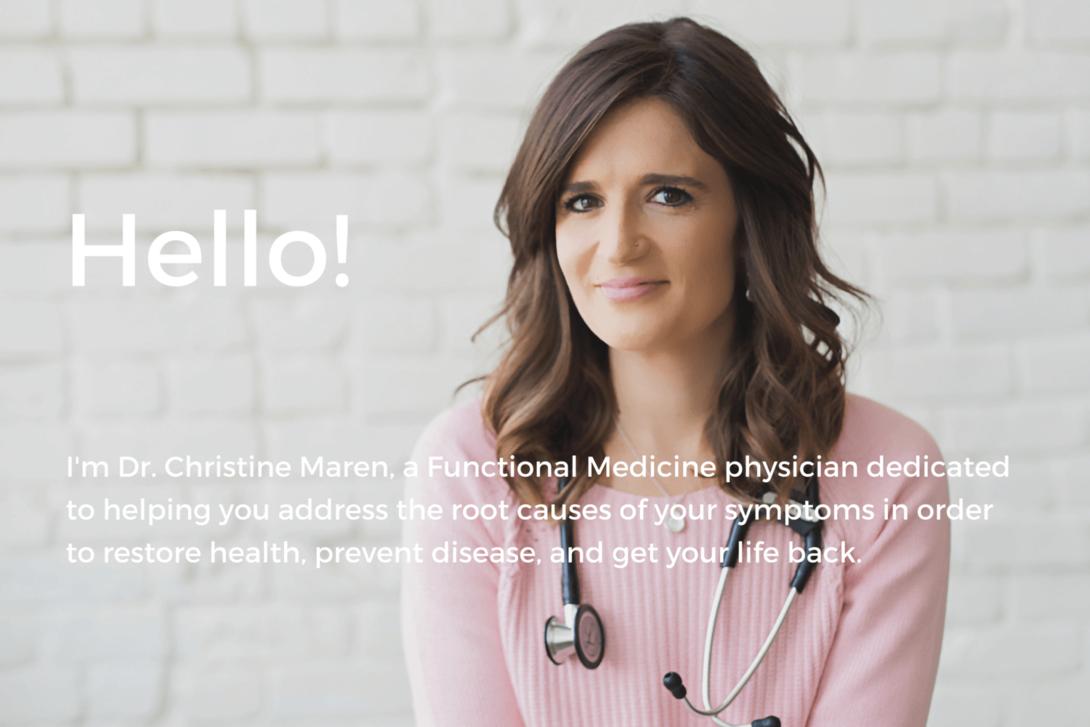 functional medicine physician, dr. christine maren
